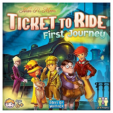 ticket to ride first journey review