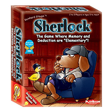 Sherlock Memory Card Game Review