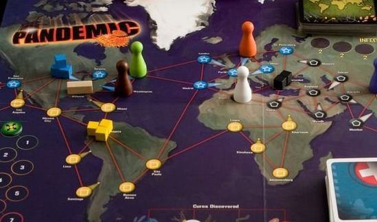 pandemic Review cooperative board game